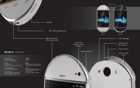 Sony Experia Folo X concept