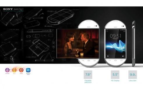 prototype Sony Experia Folo X