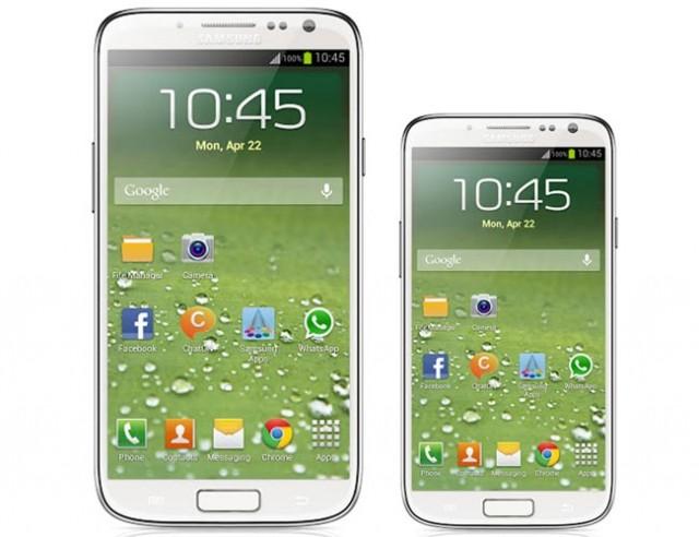 Présentation de ce que pourrait être la version Mini du Samsung Galaxy S4 par rapport à la version normale
