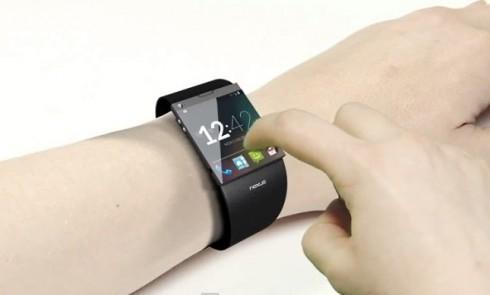 Google Smartwatch Render