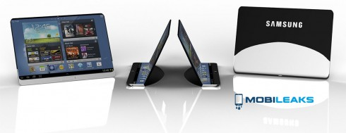 tablette flexible samsung
