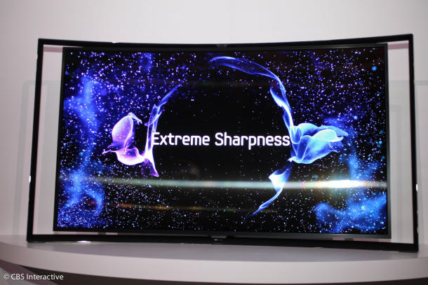 tv flexible samsung
