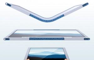 tablette flexible