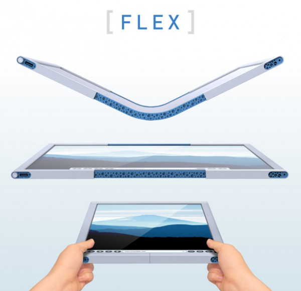 tablette flexible
