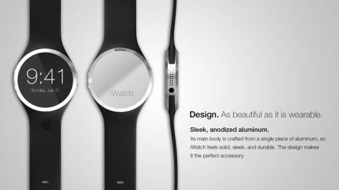 iWatch concept design