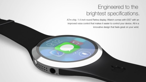 iWatch ios7