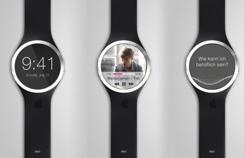 iWatch music