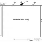 Une des images du brevet déposé par Apple pour ces futurs écrans souples