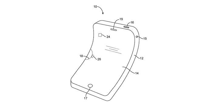 Schéma pour iPhone Apple pliable