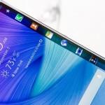 Ecran incurvé du Samsung Galaxy S6 Edge