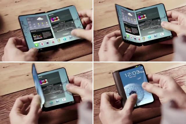 Samsung souple et pliable