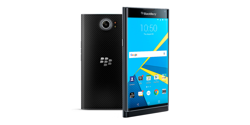 Blackberry lance un smartphone avec cran incurv le priv for Photo ecran blackberry
