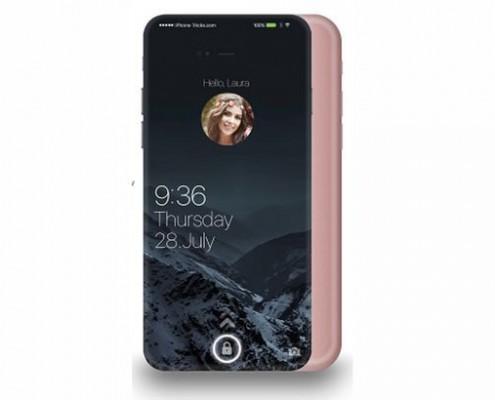 Design d'iPhone 7 Plus futuriste