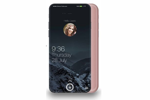 Design d'iPhone 7 Plus futuriste