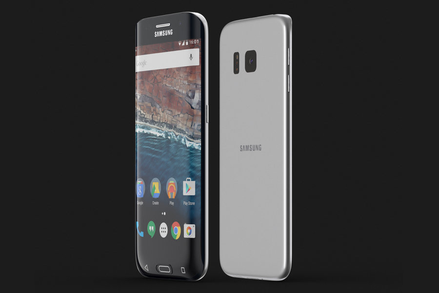 Prototype de Samsung Galaxy S7 Edge par Curved