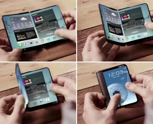 Project Valley : le premier smartphone pliable par Samsung