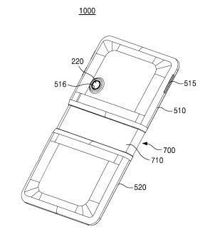 Brevet Samsung écran pliable
