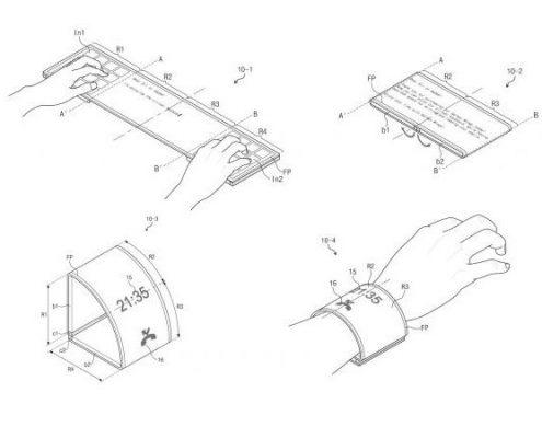 Projet Galaxy Wing de Samsung