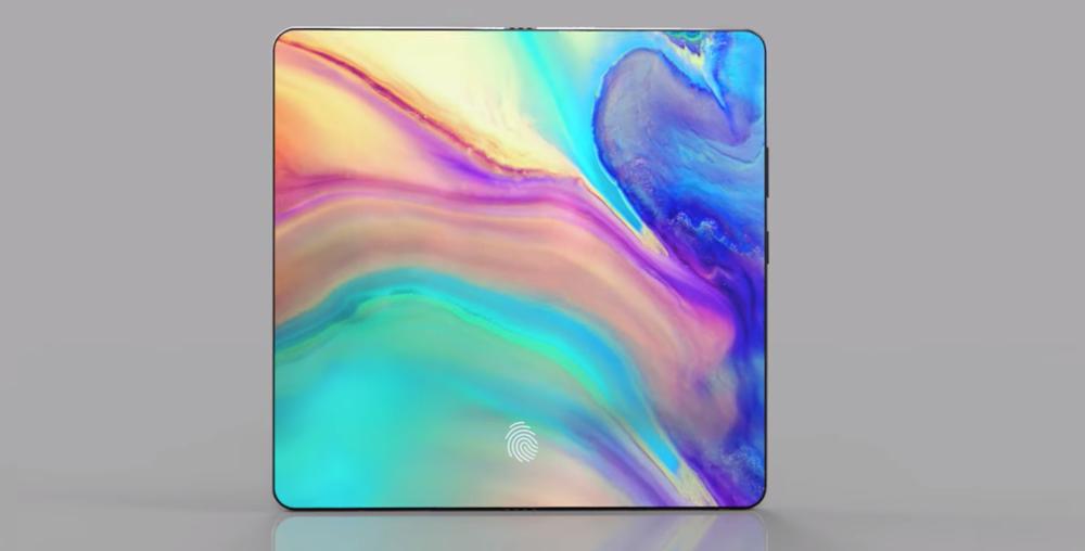 Huawei pliable en tablette