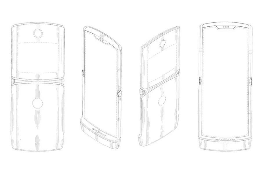 brevet Motorola RAZR écran pliable