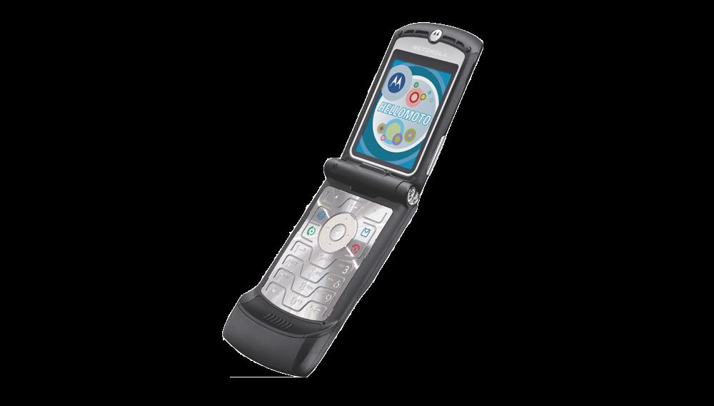 Motorola RAZR clapet