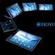 Smartphone pliable Royole