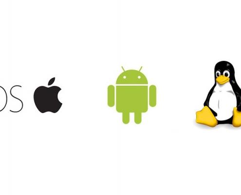 Système d'exploitation IOS Android