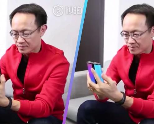 Xiaomi nouveau smartphone pliable