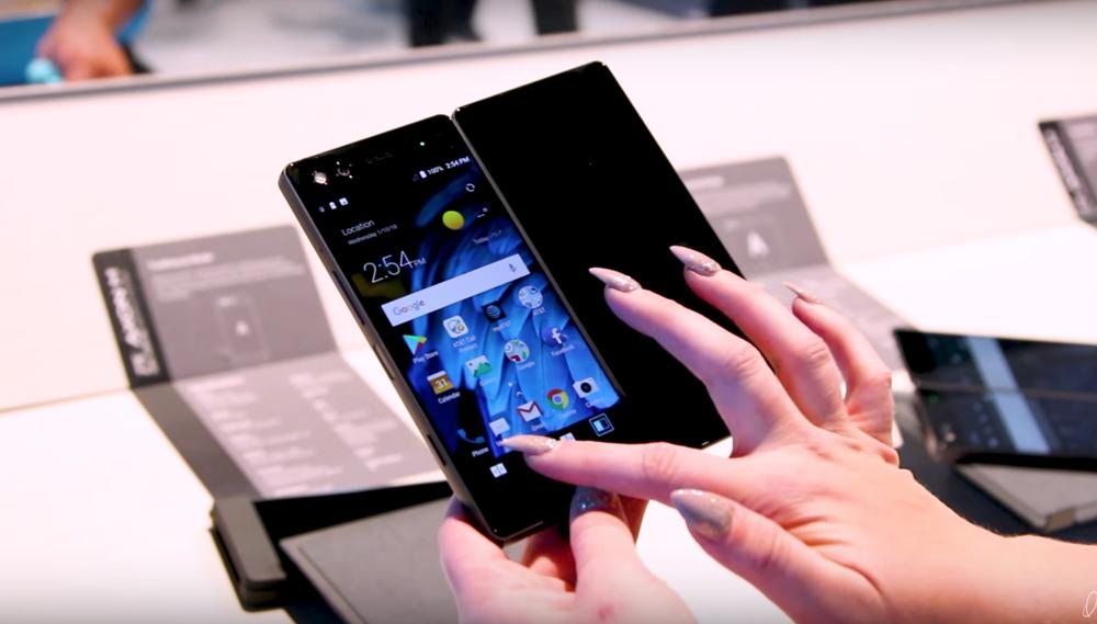Format smartphone pour passer en mode double écran