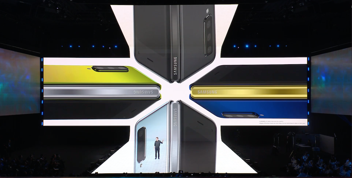 Galaxy Fold 4 couleurs