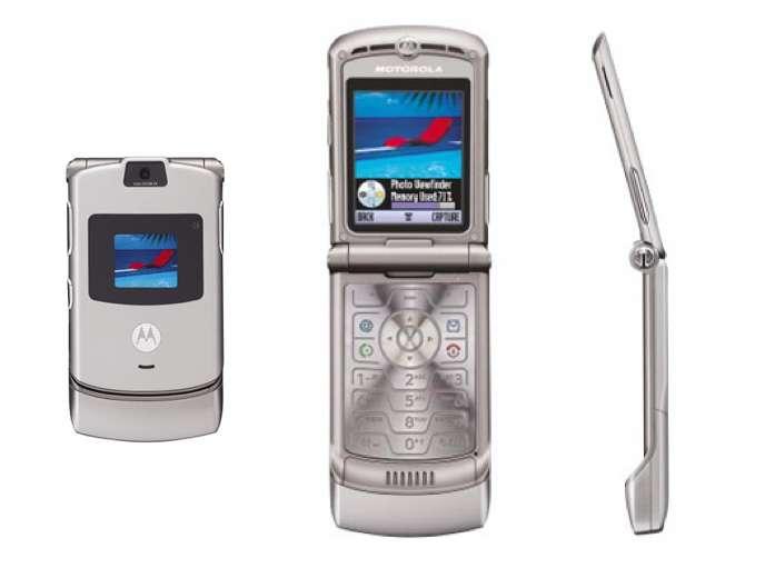 Motorola Razr v3 écran clapet