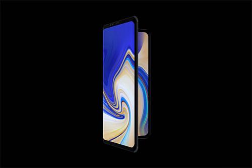Smartphone avec écran pliable Samsung F